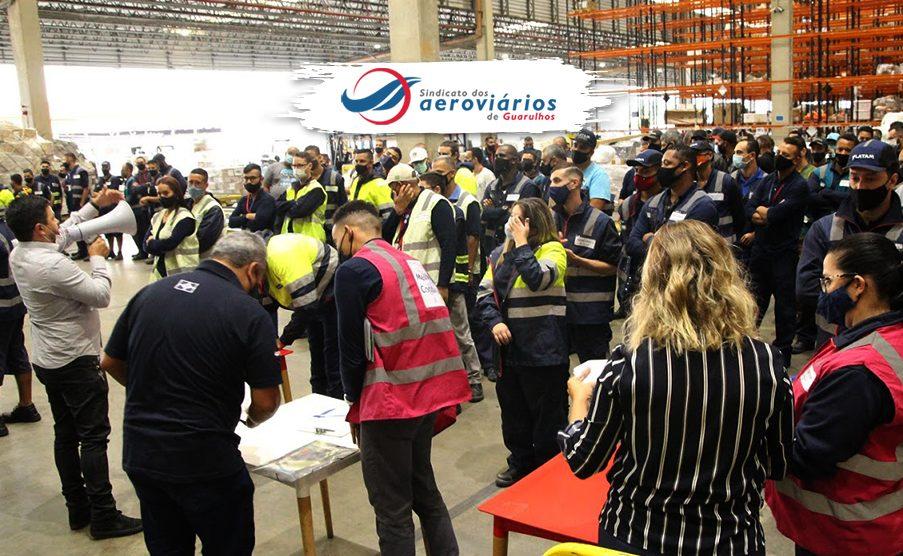 trabalhadores da Latam Cargo recebem avaliação jurídica sobre adicional de periculosidade
